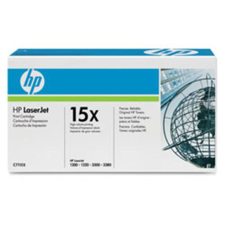HP 15X (C7115X) Black Original High Capacity Toner Cartridge