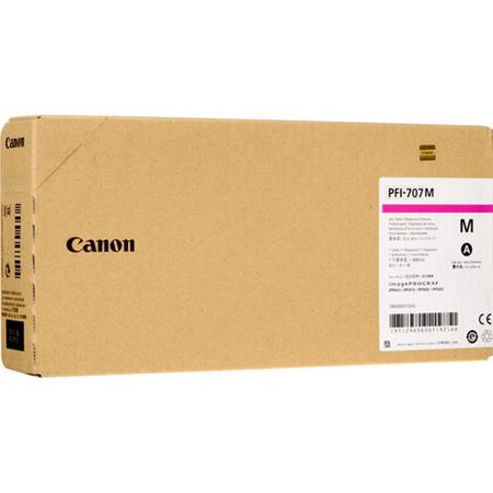 Canon PFI-707M Magenta Original High Capacity Ink Cartridge (700ml)