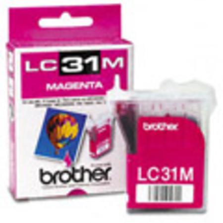 Brother LC31M Magenta Original Print Cartridge