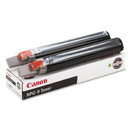 Canon NPG-9  Original Black Toner Cartridge 2/Pack (1379A004AA)