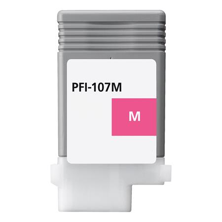 Compatible Magenta Canon PFI-107M Ink Cartridge (Replaces Canon 6707B001AA)