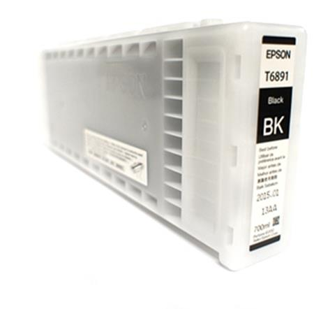 Epson T6891 (T689100) Black Original UltraChrome GS2 Ink Cartridge (700ml)
