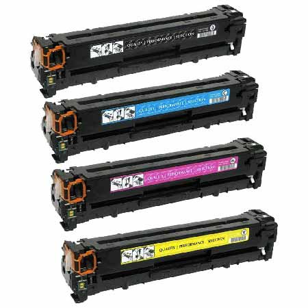 Clickinks 305A Full Set Remanufactured Toner Cartridges