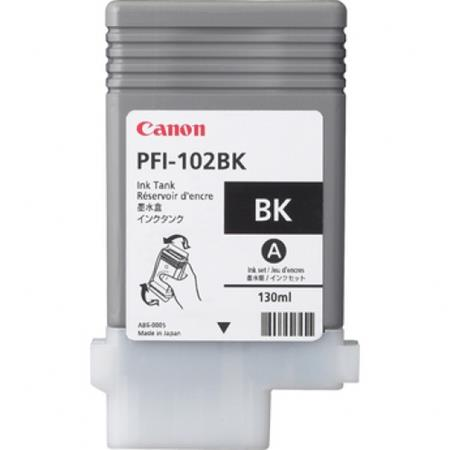 Canon PFI-102BK (0894B001AA) Black Original Ink Cartridge