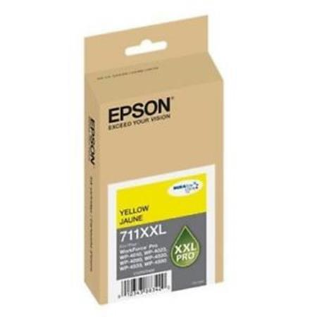 Epson T711XXL (T711XXL420) Yellow Original DURABrite Extra High Capacity Ink Cartridge