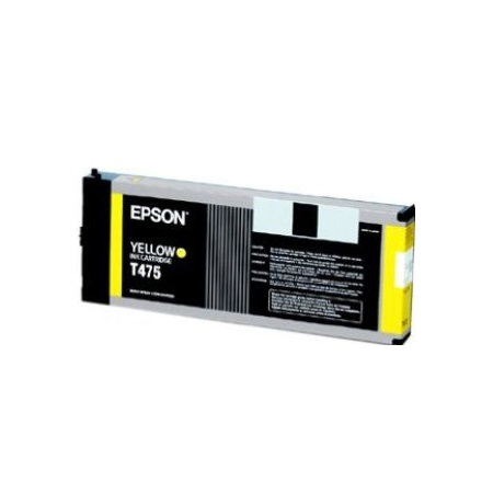 Compatible Yellow Epson T475 Ink Cartridge (Replaces Epson T475011)