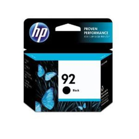 HP 92 Black Original Inkjet Print Cartridge with Vivera Ink (C9362WN)
