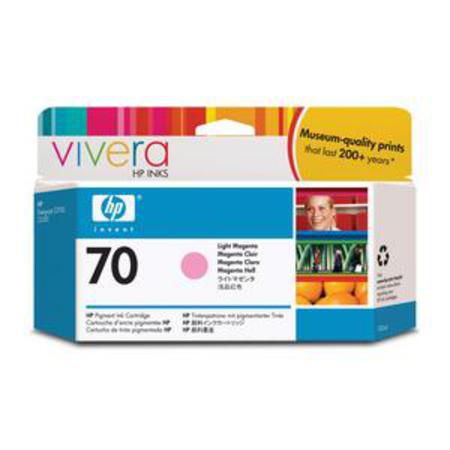 HP 70 Original Light Magenta Print Cartridge (C9455A)
