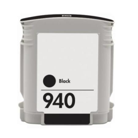 HP 940 Black Remanufactured Ink Cartridge (C4902AN)