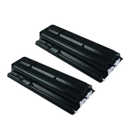 Clickinks TK-410 Black Remanufactured Toners Twin Pack