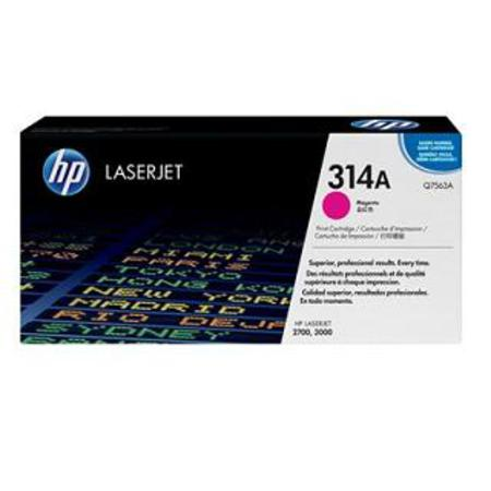 HP Color LaserJet Q7563A Magenta Original Print Cartridge with HP ColorSphere Toner
