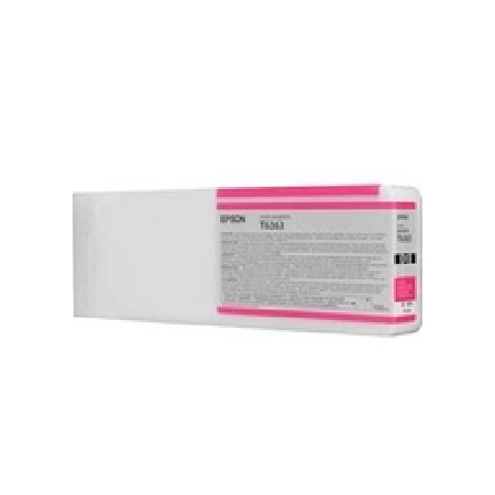 Epson T6363 (T636300) Vivid Magenta Remanufactured Ink Cartridge