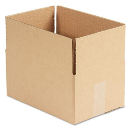 Corrugated Kraft Fixed-Depth Shipping Carton 8w x 12l x 6h Brown 25/Bundle
