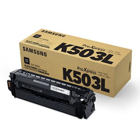 Samsung CLT-K503L Black Original High Capacity Toner Cartridge