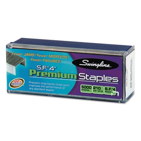 S.F. 4 Premium Chisel Point 210 Count Full Strip Staples  5 000/Box