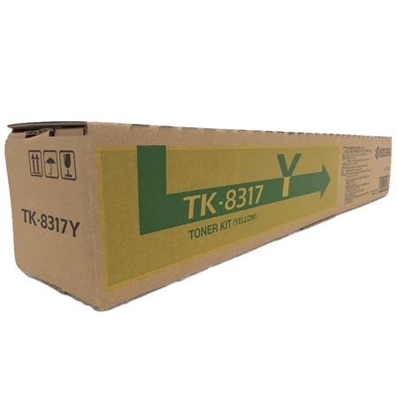 Kyocera Mita TK-8317Y Yellow Original Toner Cartridge