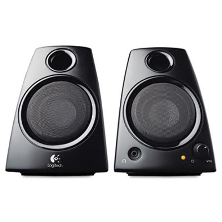 Logitech Z130 Compact Laptop Speakers 3.5mm Jack Black