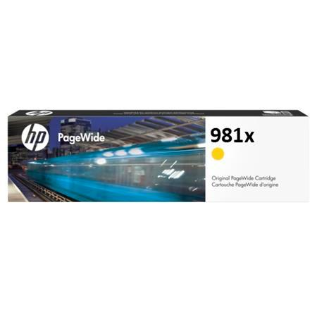 HP 981X (L0R11A) Yellow Original High Capacity PageWide Cartridge