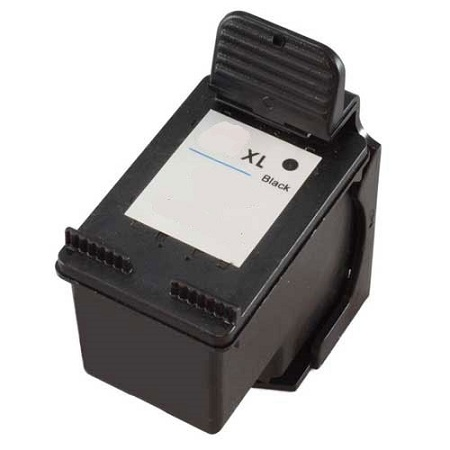 HP 62XL Black Remanufactured High Capacity Ink Cartridge (C2P05AN)
