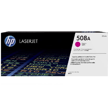 HP 508A Magenta Original Standard Capacity Toner Cartridge (CF363A)