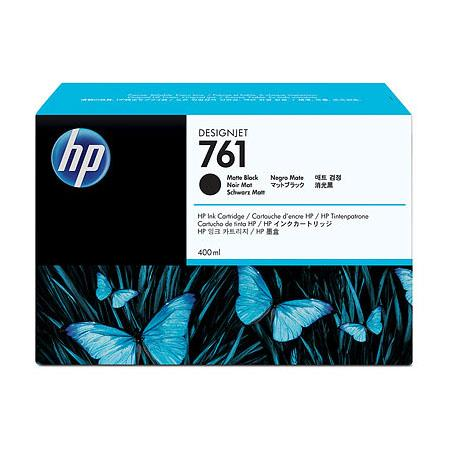 HP 761 Matte Black Original Standard Capacity Ink Cartridge (CM991A) (400ml)