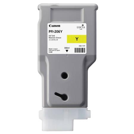 Canon PFI-206Y (5306B001AA) Yellow Original Ink Cartridge