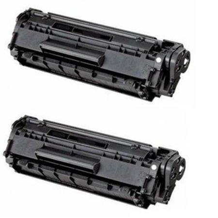 Clickinks FX9/10 Black Remanufactured Toner Cartridges Twin Pack