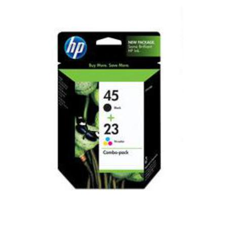 HP 45/23D Original Inkjet Print Cartridge Combo Pack (C8790FN)