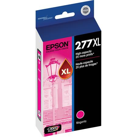 Epson 277XL (T277XL320) Magenta Original High Capacity Claria Ink Cartridge