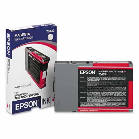 Epson T5433 (T543300) Original Magenta Ink Cartridge