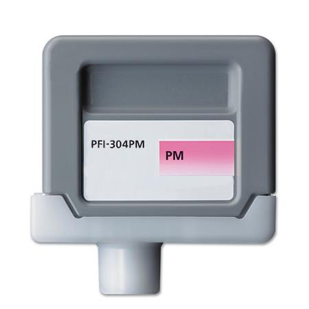 Compatible PhotoMagenta Canon PFI-304PM Ink Cartridge (Replaces Canon 3854B001AA)