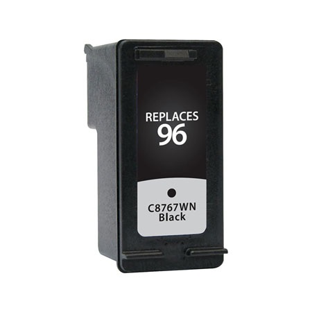 HP 96 Black Remanufactured High Capacity Printer Ink Cartridge (C8767WN)