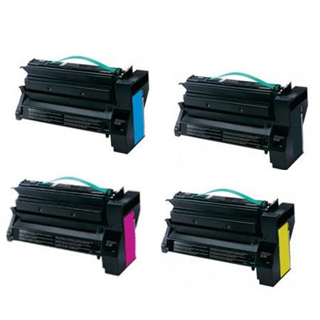 Compatible Multipack Lexmark C792A2K/C/M/YG Full Set Toner Cartridges