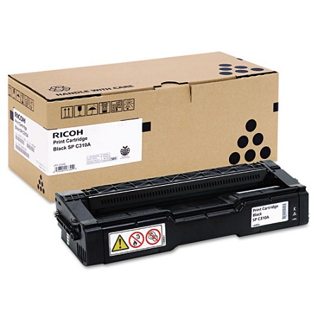 Ricoh 406344 Black Original Standard Capacity Toner Cartridge