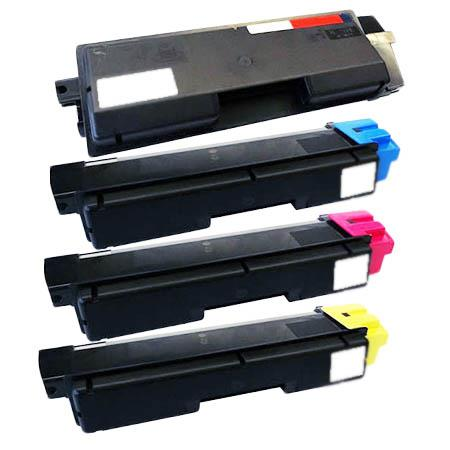 Compatible Multipack Kyocera TK-592K/C/M/Y Full Set Toner Cartridges