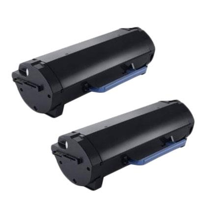 Compatible Twin Pack Black Dell 331-9805 High Capacity Toner Cartridge