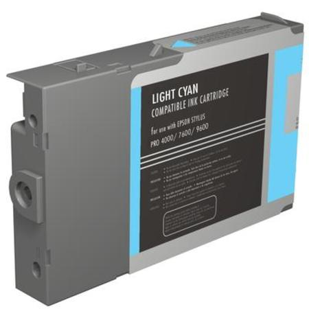 Compatible Light Cyan Epson T5435 Ink Cartridge (Replaces Epson T543500)