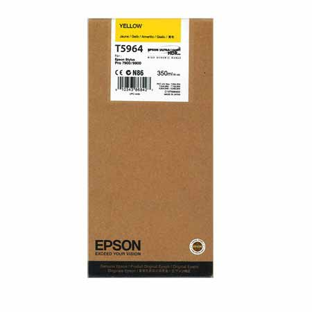 Epson T5964 Yellow Original Ink Cartridge