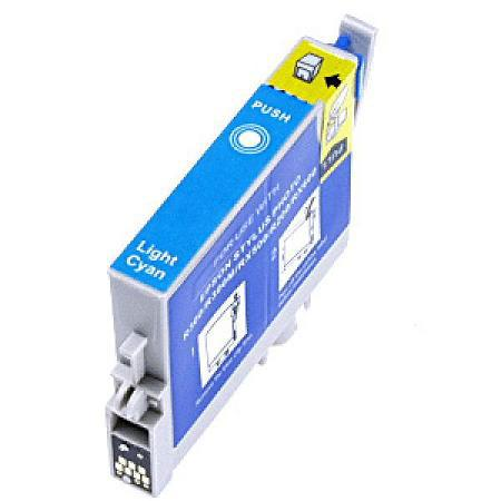 Epson T0485 (T048520) Light Cyan Remanufactured Ink Cartridge