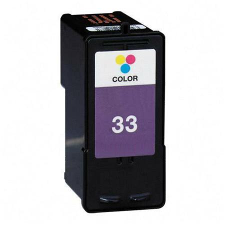 Lexmark No. 33 (18C0033) Color Remanufactured Inkjet Print Cartridge
