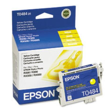 Epson T0484 (T048420) Original Yellow Ink Cartridge