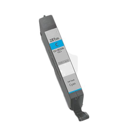 Canon CLI-281CXXL Cyan Compatible Extra High Capacity Ink Cartridge