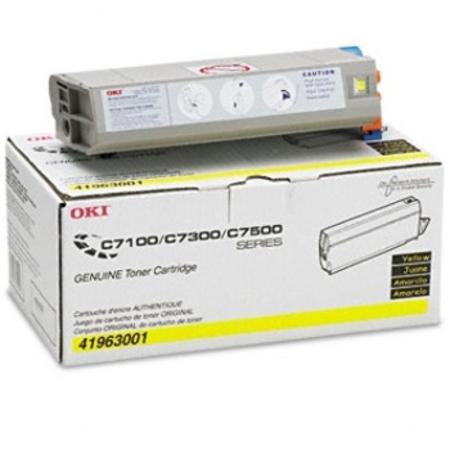 OKI 41963001 Yellow Original Toner Cartridge
