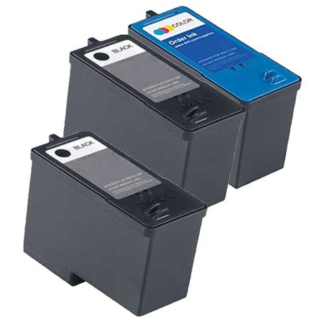 Compatible Multipack Dell M4640/M4646 Full Set + 1 EXTRA Black Inkjet Cartridges