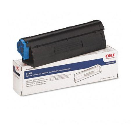 OKI 43502001 Black High Yield Original Laser Toner Cartridge