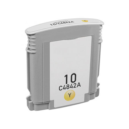 Compatible Yellow HP 10 Ink Cartridge (Replaces HP C4842A)