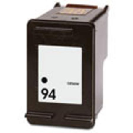 HP 94 Black Remanufactured Printer Ink Cartridge (C8765WN)