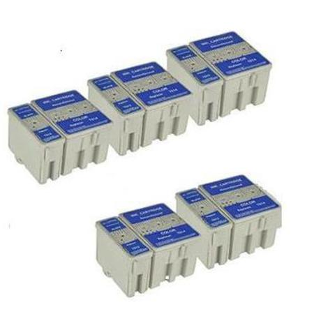 Compatible Multipack Epson T013/T014 5 Full Sets Ink Cartridges