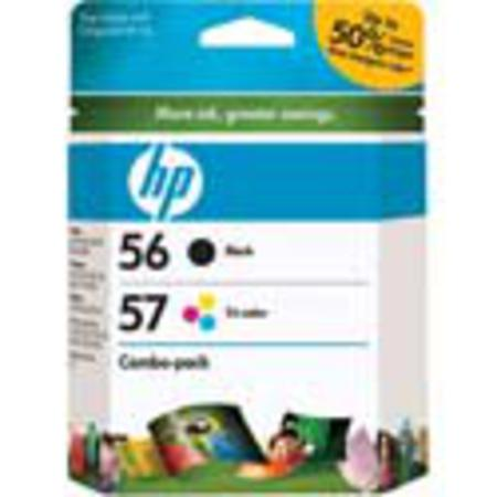 HP 56/57 Original Inkjet Print Cartridge Combo Pack (C9321BN)