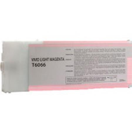 Compatible Light Magenta Epson T6066 Ink Cartridge (Replaces Epson T606600)